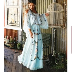 66debcfb94a Little Big Love Maxi Dress in Mint by Fillyboo XL